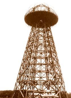 В начале 1900-х Тесла строит новый, более мощный передатчик на о. Лонг-Айленд, неподалеку от Нью-Йорка...